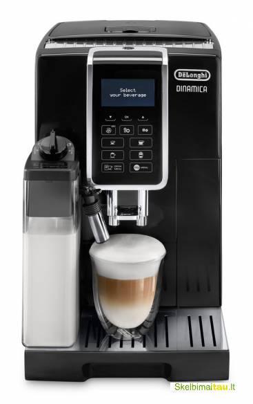 Delonghi kavos aparatu programavimas