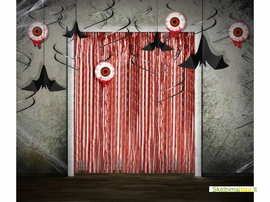 Helovyno dekoracijos, helovyno atributika