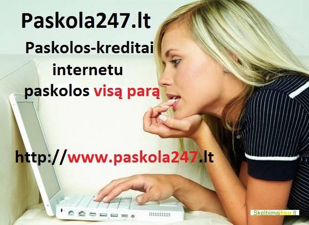 Pirma paskola nemokamai. paskolos internetu be užstato.