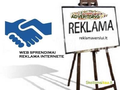 Skelbimų talpinimas, reklama internete. visos reklamos pasla