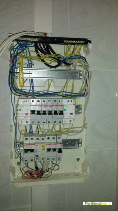 Elektros darbai. signalizcijos montavimas., vilniuje